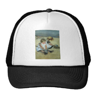Children at the Seashore 1885 Trucker Hat
