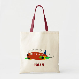 Children Bags: Aircraft Tote Bag
