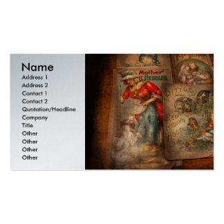 Children - Books - Fairy tales Business Card Templates