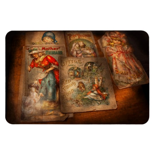 Children - Books - Fairy tales Rectangular Photo Magnet