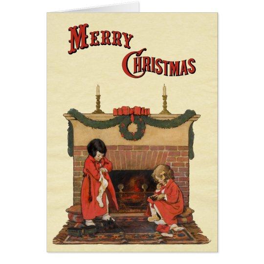 Children by the Fireplace by Jessie Willcox Smith