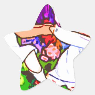 children dance star stickers