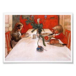 Children Eating Supper (1905) Photo Art