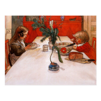 Children Eating Supper (1905) Postcard