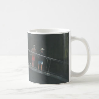 Children fishing coffee mug
