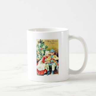 Children getting ready for Christmas night by prep Coffee Mugs
