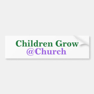 Children Grow @Church sticker