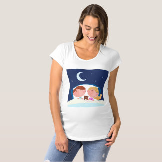 Children having a sound sleep Maternity T-Shirt