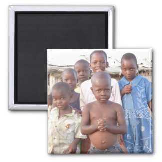 Children in Africa Magnet
