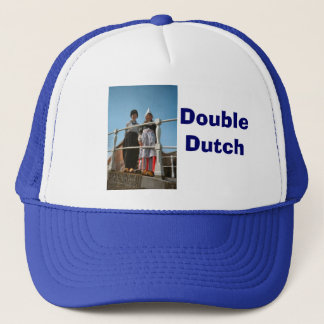 Children in Dutch National Costume Trucker Hat