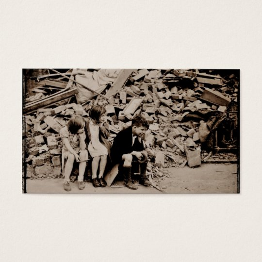 Children in the Rubble Business Card