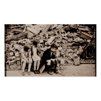 Children in the Rubble Pack Of Standard Business Cards