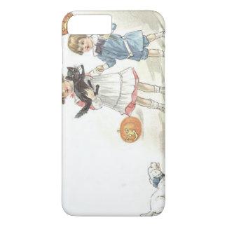 Children Jack O' Lantern Black Cat Dog iPhone 7 Plus Case
