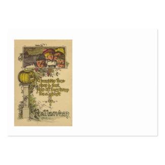 Children Jack O' Lantern Pumpkin Fall Pack Of Chubby Business Cards
