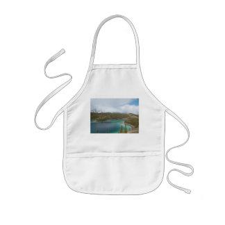 Children kitchen apron Emerald Lake