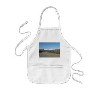 Children kitchen apron highway in Alaska