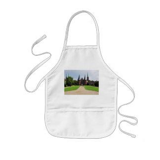 Children kitchen apron Luebeck getting gate
