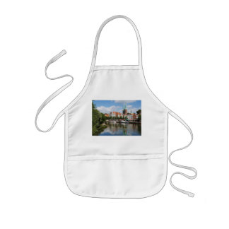 Children kitchen apron Luebeck to the Obertrave