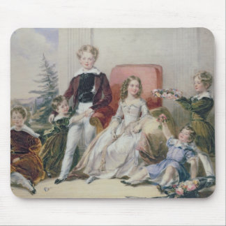 Children of Elhanan Bicknell Mouse Mat