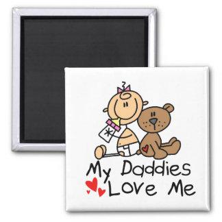 Children Of Gay Parents Square Magnet