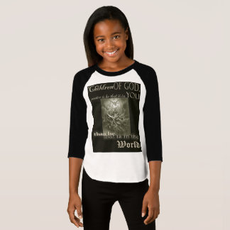 Children of God Girls 3/4 sleeve T-shirt
