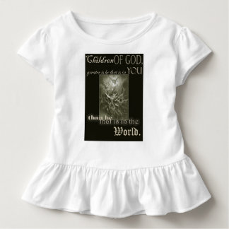 Children of God Toddler Ruffle T-shirt