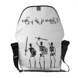'Children of the Hydra' Skeleton Messenger Bag