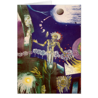 Children of the stars by Gregory Gallo Greeting Card