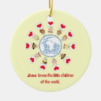 Children of the World Christmas Ornament