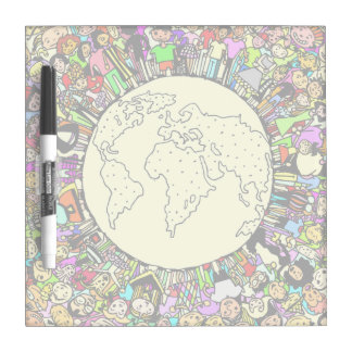 Children of the World Dry Erase Board