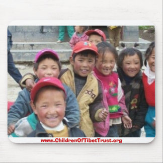 Children Of Tibet Mouse Pad