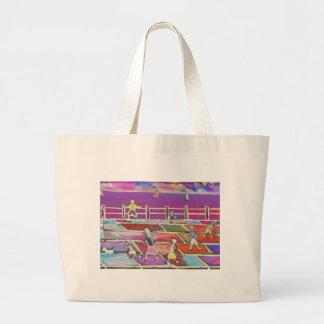 CHILDREN ON A PROMENADE BAG
