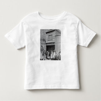 Children outside John Pounds's workshop Toddler T-Shirt