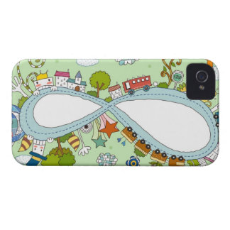Children Playing 2 iPhone 4 Cover