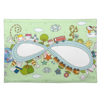 Children Playing 2 Placemat