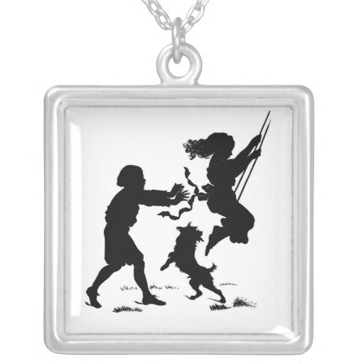 Children Playing Necklace