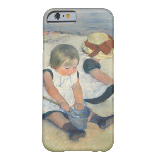Children Playing on the Beach, 1884 Barely There iPhone 6 Case