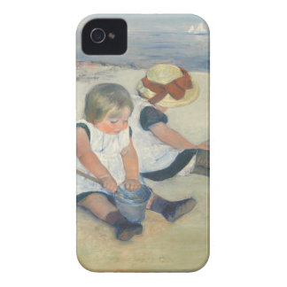 Children Playing on the Beach, 1884 Case-Mate iPhone 4 Case