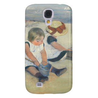 Children Playing on the Beach, 1884 Galaxy S4 Case