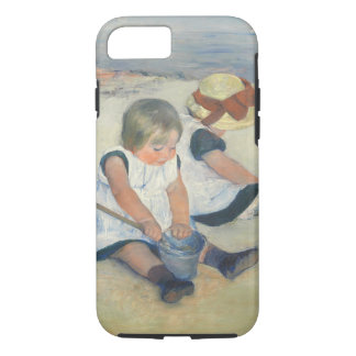 Children Playing on the Beach, 1884 iPhone 8/7 Case