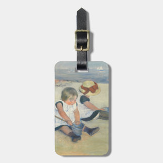 Children Playing on the Beach, 1884 Luggage Tag