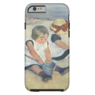 Children Playing on the Beach, 1884 Tough iPhone 6 Case
