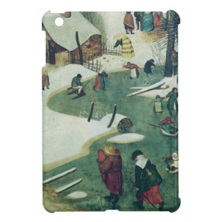Children Playing on the Frozen River Cover For The iPad Mini