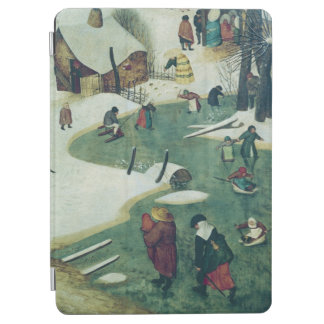 Children Playing on the Frozen River iPad Air Cover