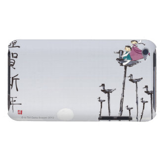 Children Playing on Wooden Bird iPod Touch Cases