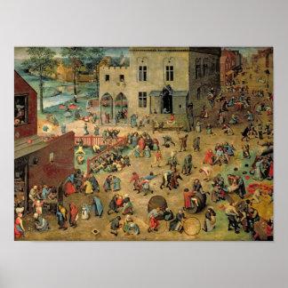 Children s Games 1560 Posters