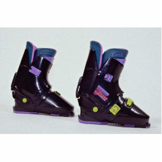 Children s ski boots cut out