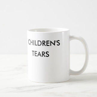 Children' S Tears Basic White Mug