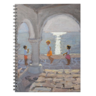 Children Skipping Greek Islands 2008 Notebooks