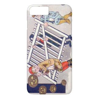 Children Stealing Fence Jack O Lantern iPhone 7 Plus Case